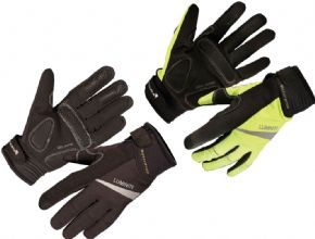 Endura Luminite Gloves - Durable Nylon mini-ripstop fabric with DWR finish