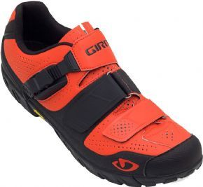 Giro Terraduro Mtb Cycling Shoes Glowing Red/black Size 42, 43 & 44 - The Terraduro was created to navigate the demands of all-mountain riding and enduro