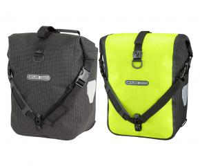Ortlieb Front-roller High Visibility Ps50cx Waterproof Panniers 25 Litre - High visibility on the road is critical to ensure that you will be safely seen.
