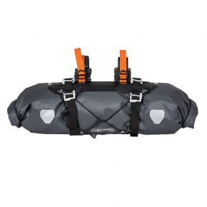 Ortlieb Bikepacking Handlebar Bag - Two straps and eight spaces for attaching to different handlebar types