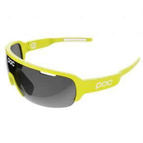 Poc Do Half Blade Sunglasses Unobtanium Yellow - Developed in close collaboration with Garmin-Sharp Pro Cycling team