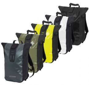 Ortlieb Velocity Backpack 24 Litres - Ortlieb's compact messenger bag doubles as an daysack and waterproof commuter pack