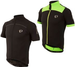 Pearl Izumi Pro Pursuit Wind Short Sleeve Jersey  2017 - Softshell Lite fabric on key areas provides breathable wind and water protection