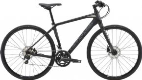 Cannondale Quick Carbon 1 Sports Hybrid Bike 2018 - Quick Carbon's ultra-light full carbon frame delivers road bike speed