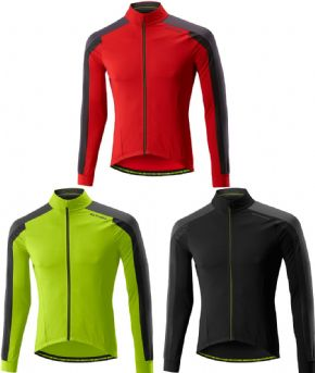 Altura Nv2 Thermo Long Sleeve Jersey  2017 - 3D patterning engineered for a more comfortable riding position