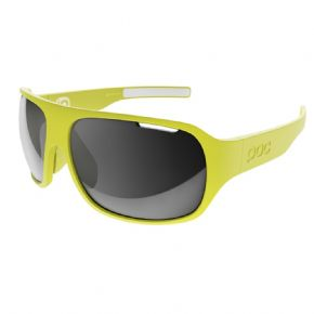 Poc Do Flow Unobtanium Yellow Grey Lens Sunglasses -