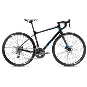 Giant Liv Avail Advanced 3 Small Black/blue/silver Womens Road Bike 2018 (ex Display) - ROM EPIC SOLO ADVENTURES TO GROUP ROAD RIDES Avail IS LIGHT COMFORTABLE AND ENGINEERED