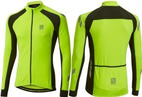 Altura Night Vision Kinetic Long Sleeve Jersey Hivis Yellow -