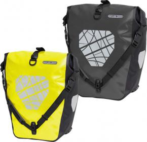 Ortlieb Back Roller Classic High-viz Ql2.1 Rear Pannier Bags 40 Litres - The Duffle is for adventurers searching the extreme and expecting excellent performance