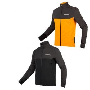 Endura Mt500 Thermo Long Sleeve Jersey - 4-way high stretch Windproof breathable fabric with DWR finish front and seat panels